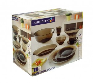 Сервіз Luminarc Ambiante ECLIPSE /45 предметів